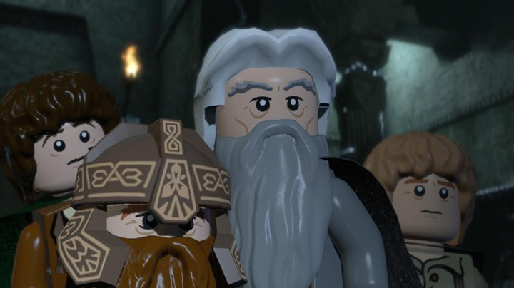 Zahrajte si demoverzi LEGO The Lord of the Rings