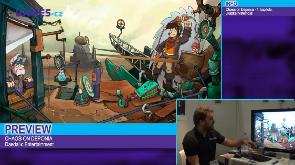 Adventurní speciál: videopreview Chaos on Deponia