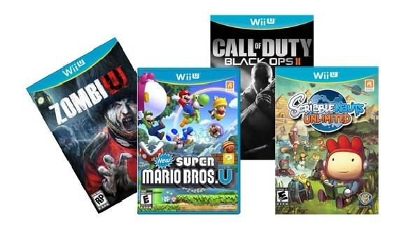 Přehled her, které si můžete koupit pro novou konzoli Wii U