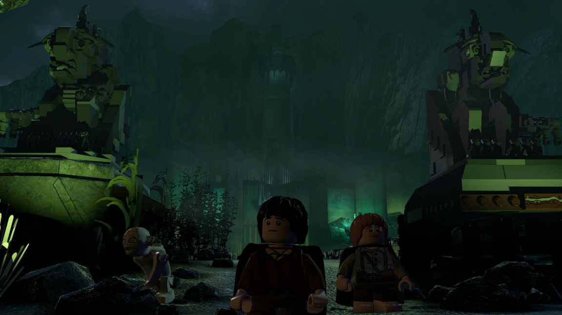 Epikou hřmící trailer na LEGO The Lord of the Rings