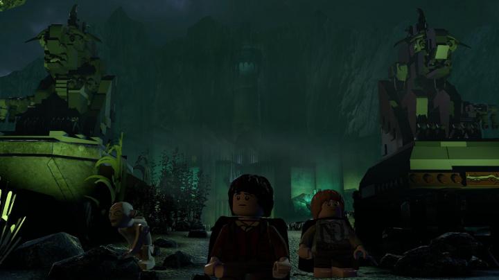 Epikou hřmící trailer na LEGO The Lord of the Rings