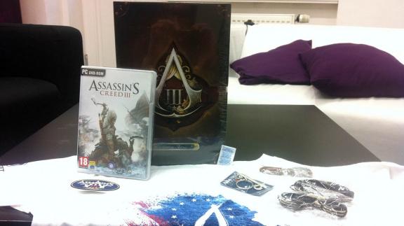 Kdo vyhrál trička a PC originálky Assassin's Creed III