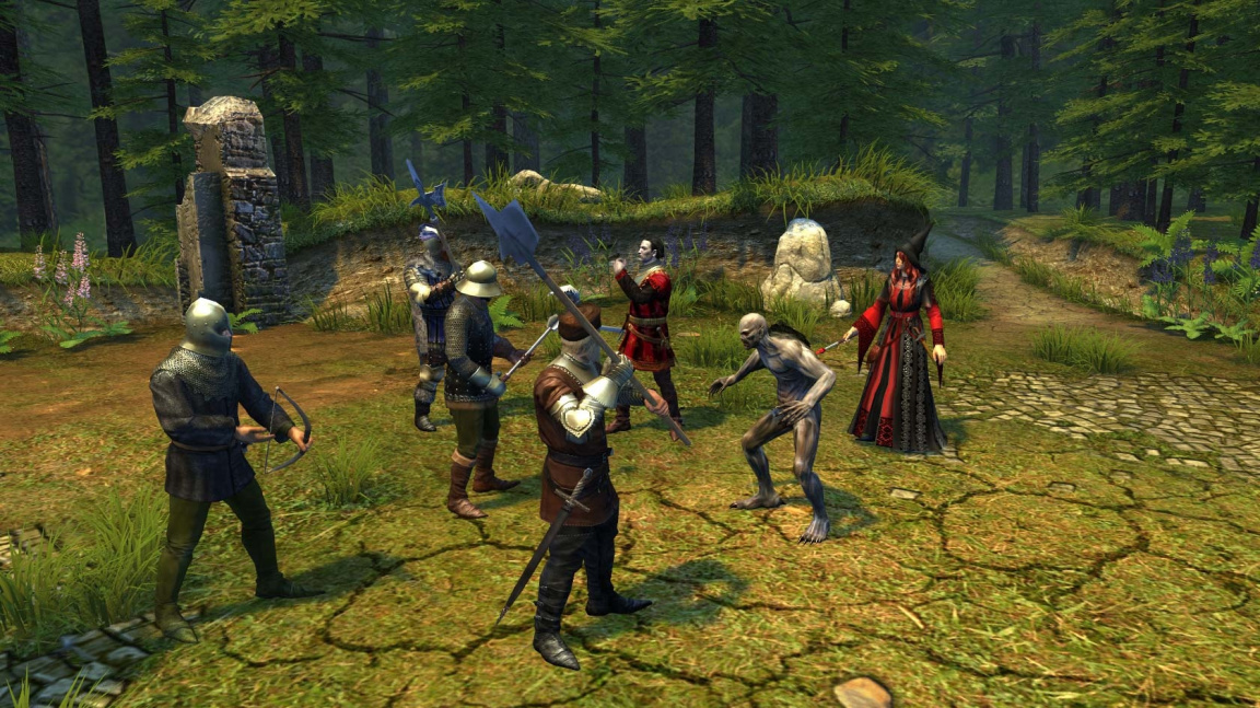 RPG tahovka Legends of Eisenwald je k dispozici na Steam Early Access