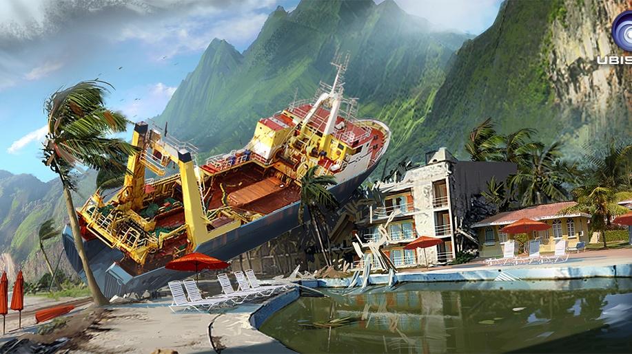 Far Cry 3 mohlo mít luxusní letoviska i vraky lodí