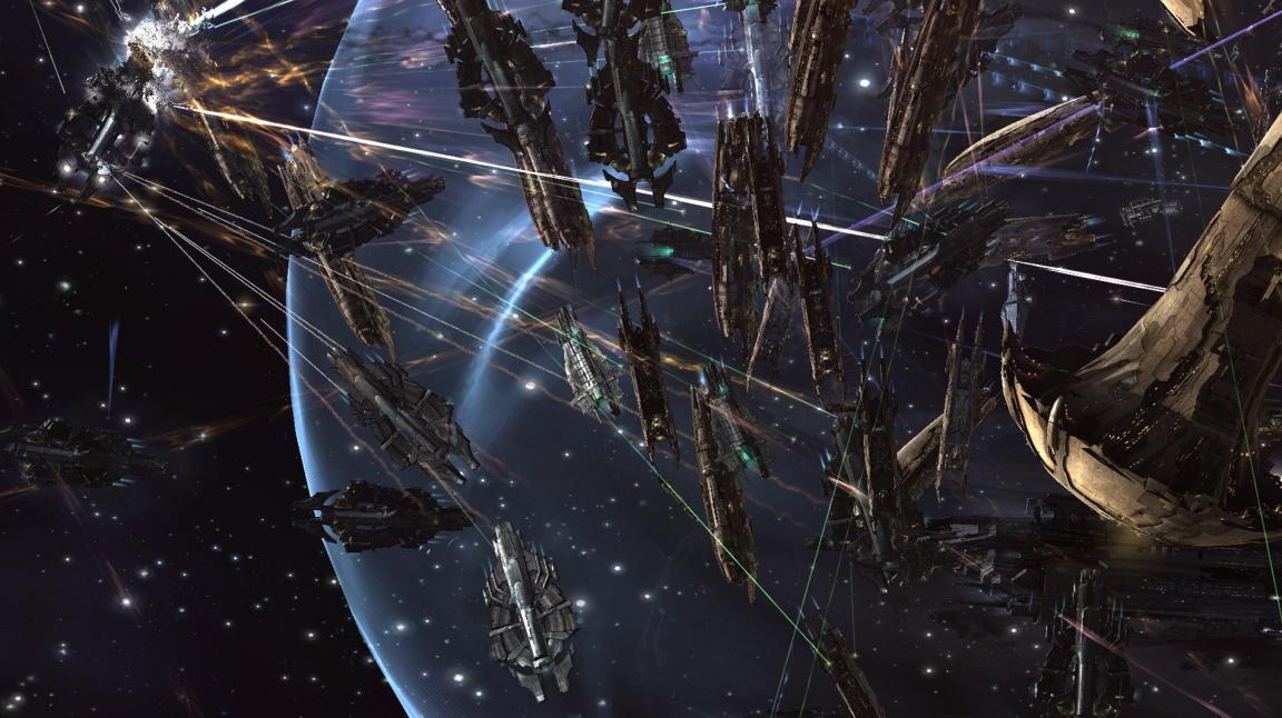 Video ze startu nového updatu k EVE Online