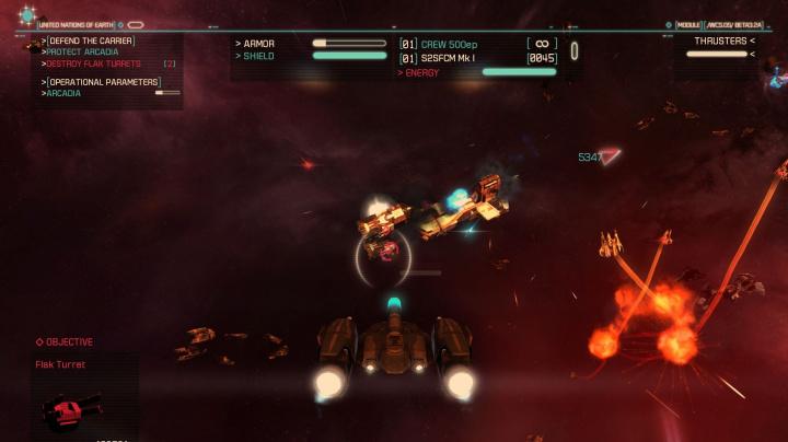 Co má společného nová hra Strike Suit Zero a Homeworld?