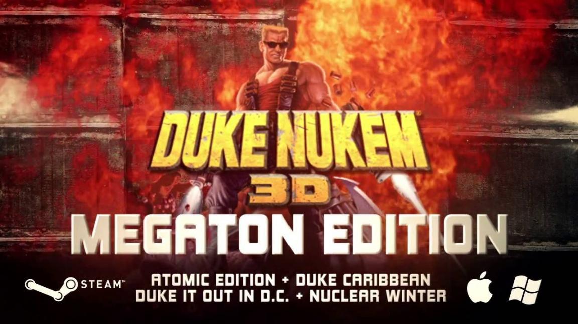 Další Duke Nukem 3D kompilace nabídne podporu Steamu