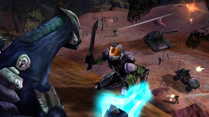 Záběry z remaku Halo ukazují graficky skok z originálu
