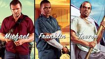 Trojice videí z Grand Theft Auto V představuje hlavní hrdiny