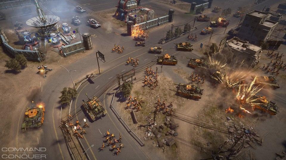 Příběhová kampaň pro nový Command & Conquer dorazí v roce 2014