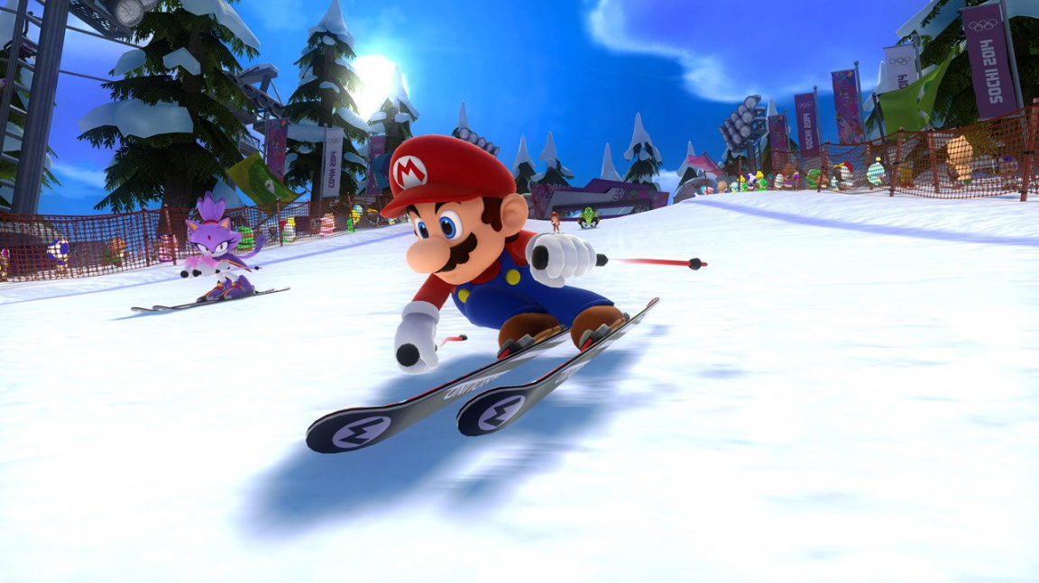Mario & Sonic at the Sochi 2014 Olympic Winter Games