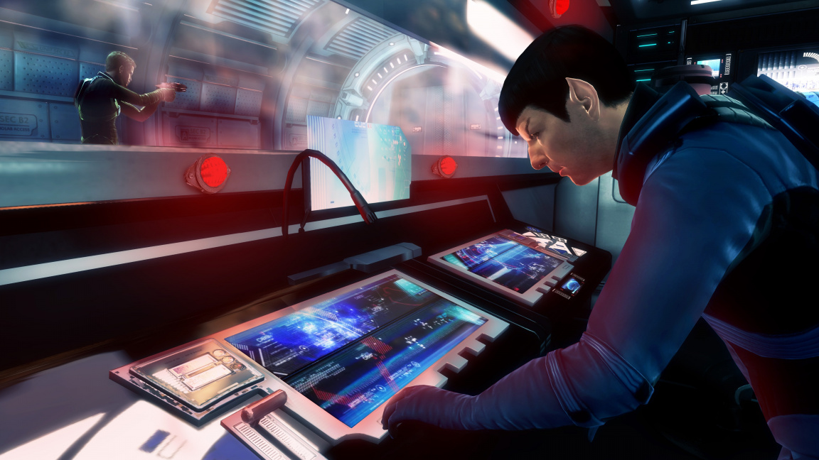 Star Trek hra na motivy filmu J.J. Abramse