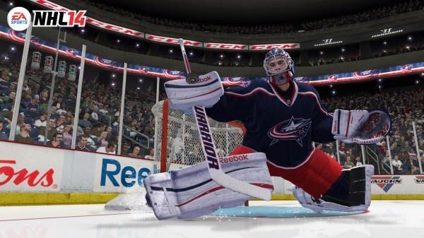 NHL 14 přinese autentičtější brankáře