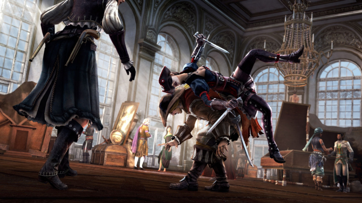 Otevřený Assassin's Creed IV, Assassin's Creed III: Liberation na konzolích i PC a AC: Pirates na mobilech