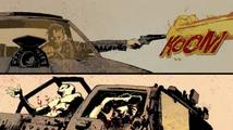 Komiksový úvod pro herního Mad Maxe vypráví příběh Bojovníka silnic