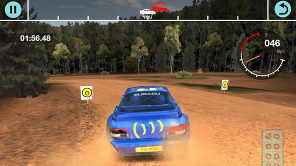Colin McRae Rally iOS - recenze