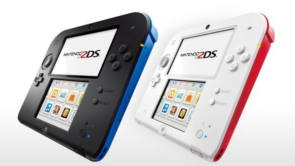 Nintendo představuje 2DS, novou mutaci svého handheldu bez 3D efektu