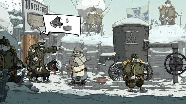 Valiant Hearts: Pět ve válce a pes