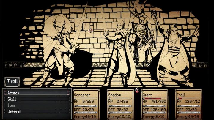 Knižní RPG Paper Sorcerer nabízí stylovou grafiku a demo