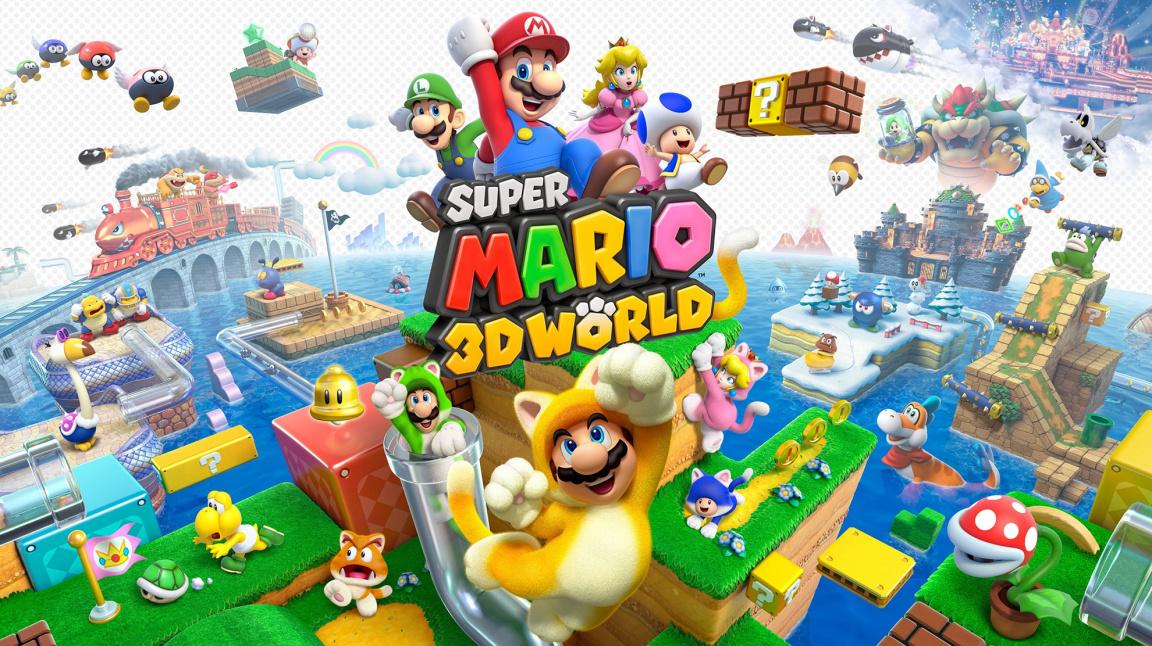 Super Mario 3D World - recenze