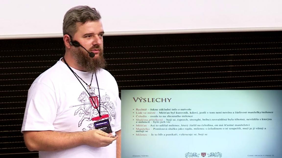 GDS 2013: Dan Vávra - Gamedesign v praxi II.