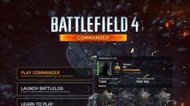 Test aplikací Battlelog a Commander pro Battlefield 4