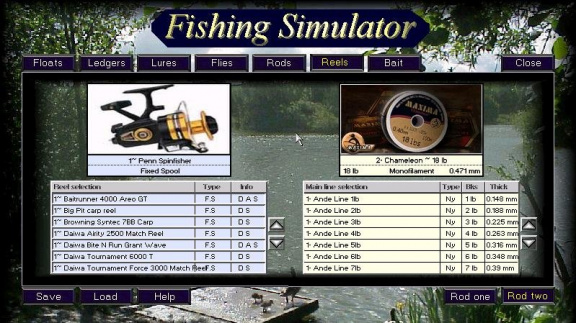 Fishing Simulator 2012
