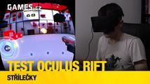 Testujeme Oculus Rift: střílečky