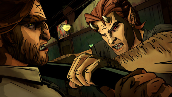 The Wolf Among Us: Episode 2 - recenze