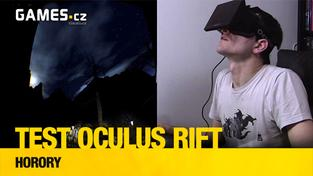Testujeme Oculus Rift: Horory