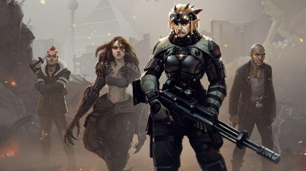 Pospěšte si a získejte zdarma výbornou kyberpunkovou trilogii Shadowrun
