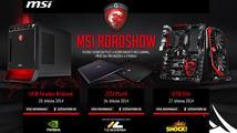 Přijďte na MSI Gaming Roadshow 2014 do Hradce, Plzně a Zlína