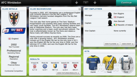 Football Manager Classic 14 Vita