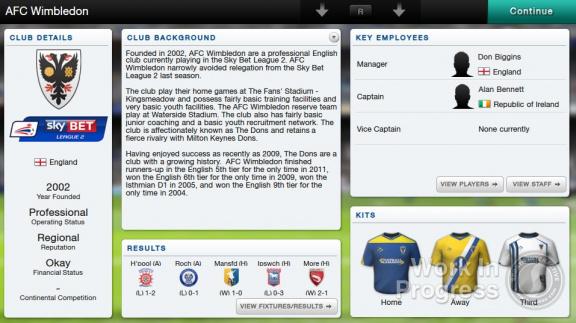 Football Manager Classic 14 Vita
