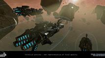 Plánování vesmírných soubojů na videu z RPG The Mandate