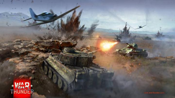 Mamutí update War Thunder přináší spoustu tanků, letadel a zničitelné prostředí