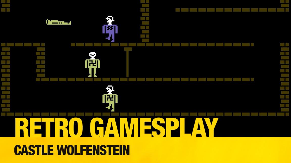 Retro GamesPlay: Castle Wolfenstein & Wolfenstein 3D