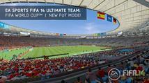 Hráče FIFA 14 Ultimate Team čeká zdarma mistrovství světa