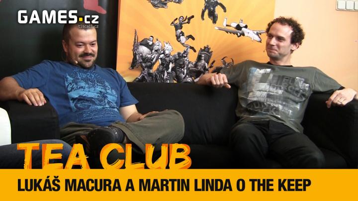 Tea Club #4: Lukáš Macura a Martin Linda o českém dungeonu The Keep