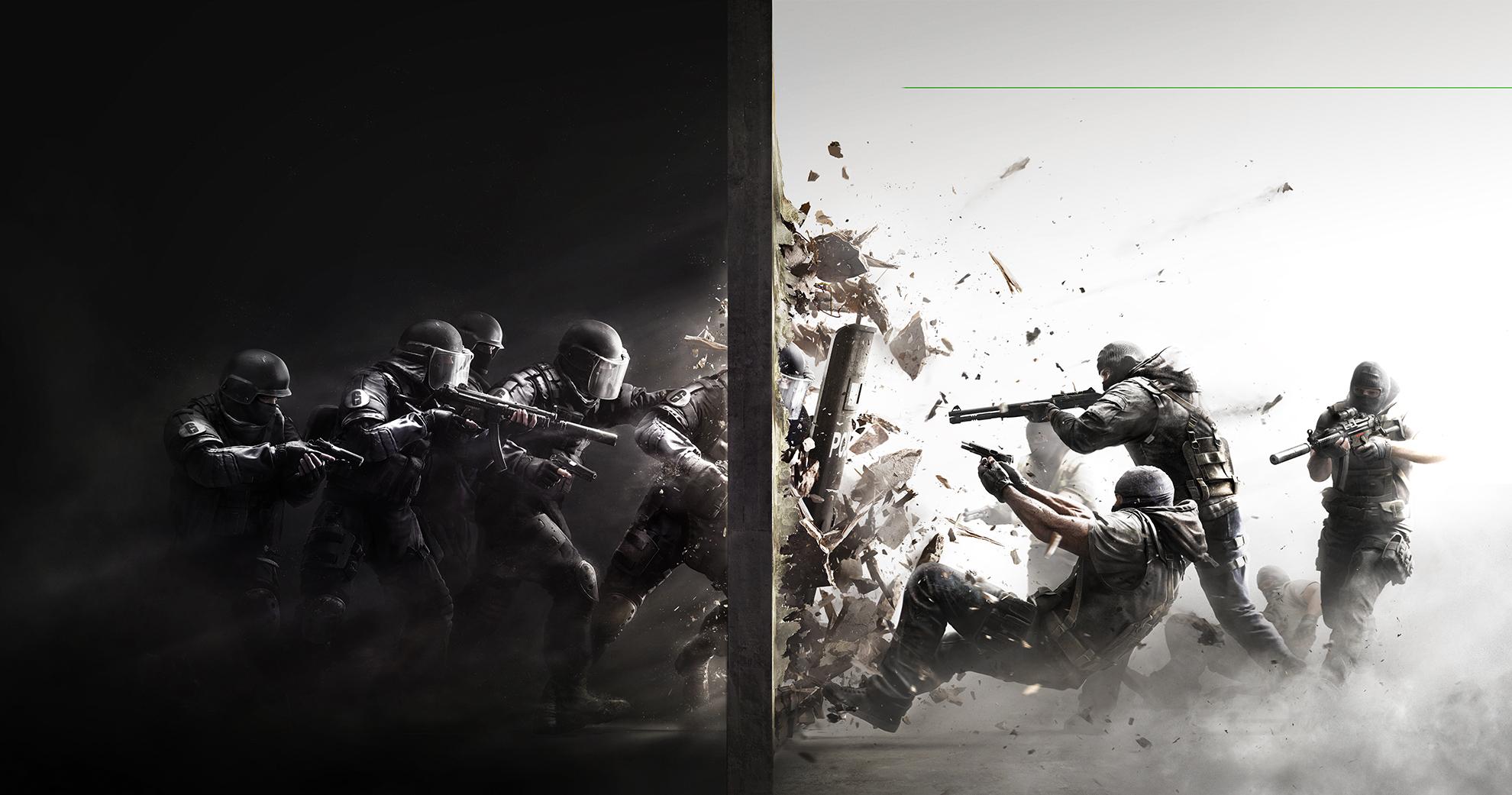 V asymetrické týmové deskovce Rainbow Six Siege boříte zdi a ničíte nábytek
