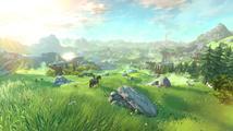 Projížďka otevřeným světem na videu z The Legend of Zelda