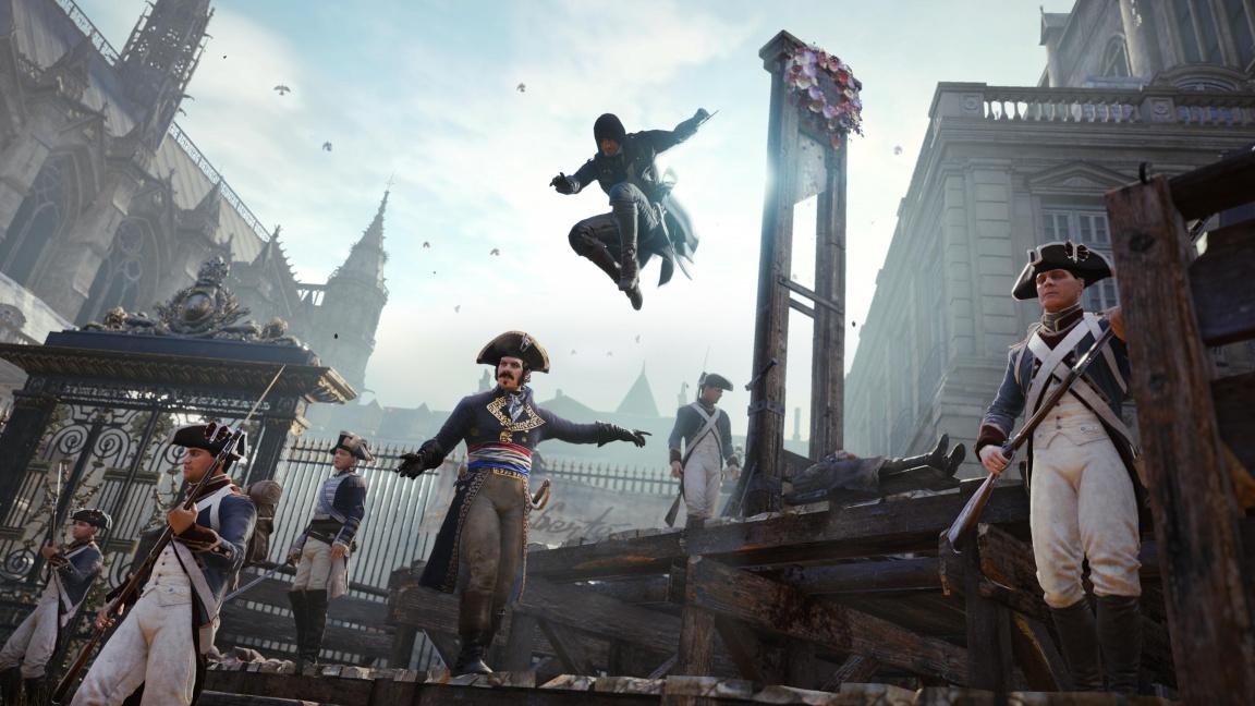 Hráči vyjadřují svůj vděk Ubisoftu obráceným review bombingem Assassin's Creed Unity