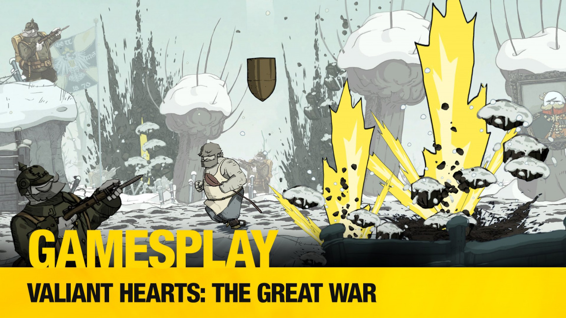 GamesPlay: záznam z hraní srdceryvné válečné adventury Valiant Hearts