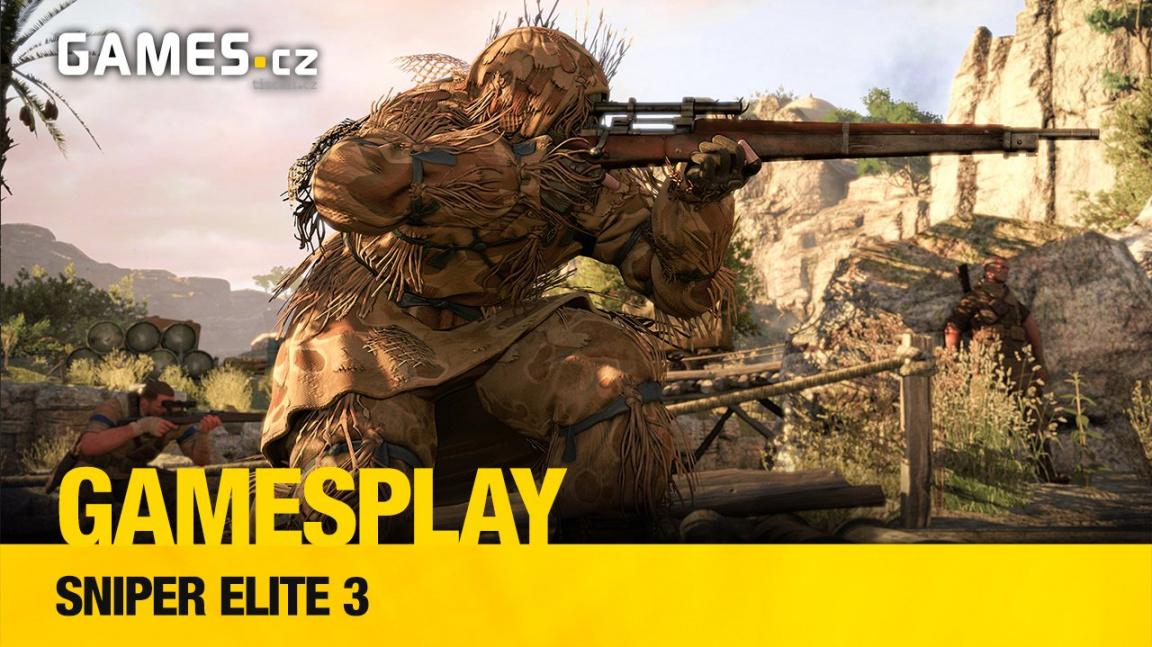 GameSplay: Aleš hraje PC verzi Sniper Elite 3