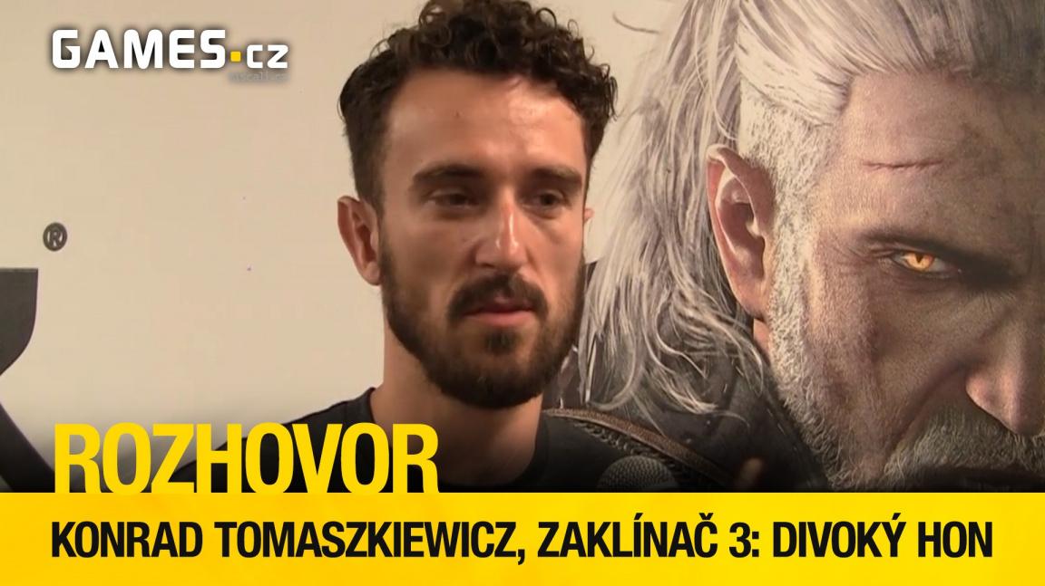 Rozhovor s Konradem Tomaszkiewiczem o třetím Zaklínači