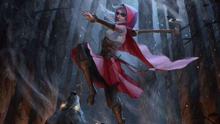 Rebellion koupil zkrachovalou fantasy Karkulku Woolfe