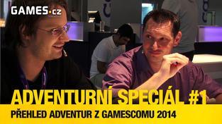 GC 2014 adventurní speciál #1 - přehled adventur z Gamescomu 2014