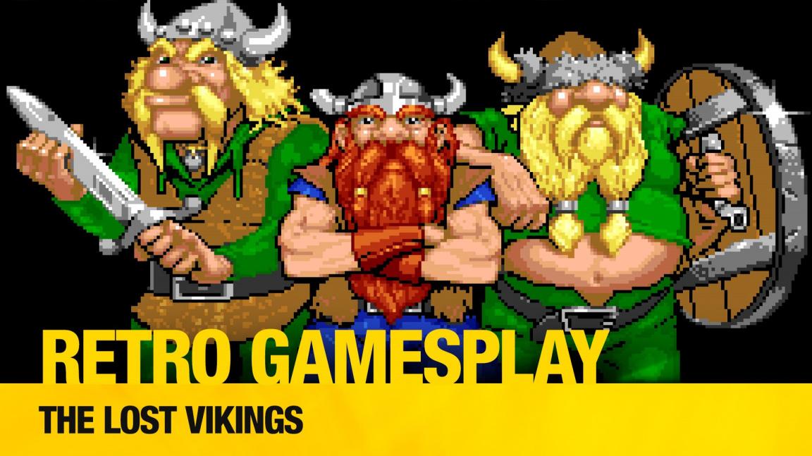 Retro GamesPlay: Pavel a Honza Olejník hrají klasiku The Lost Vikings
