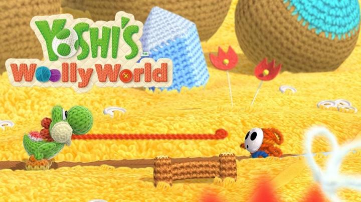 Yoshi's Woolly World válcuje konkurenci sladkou roztomilostí