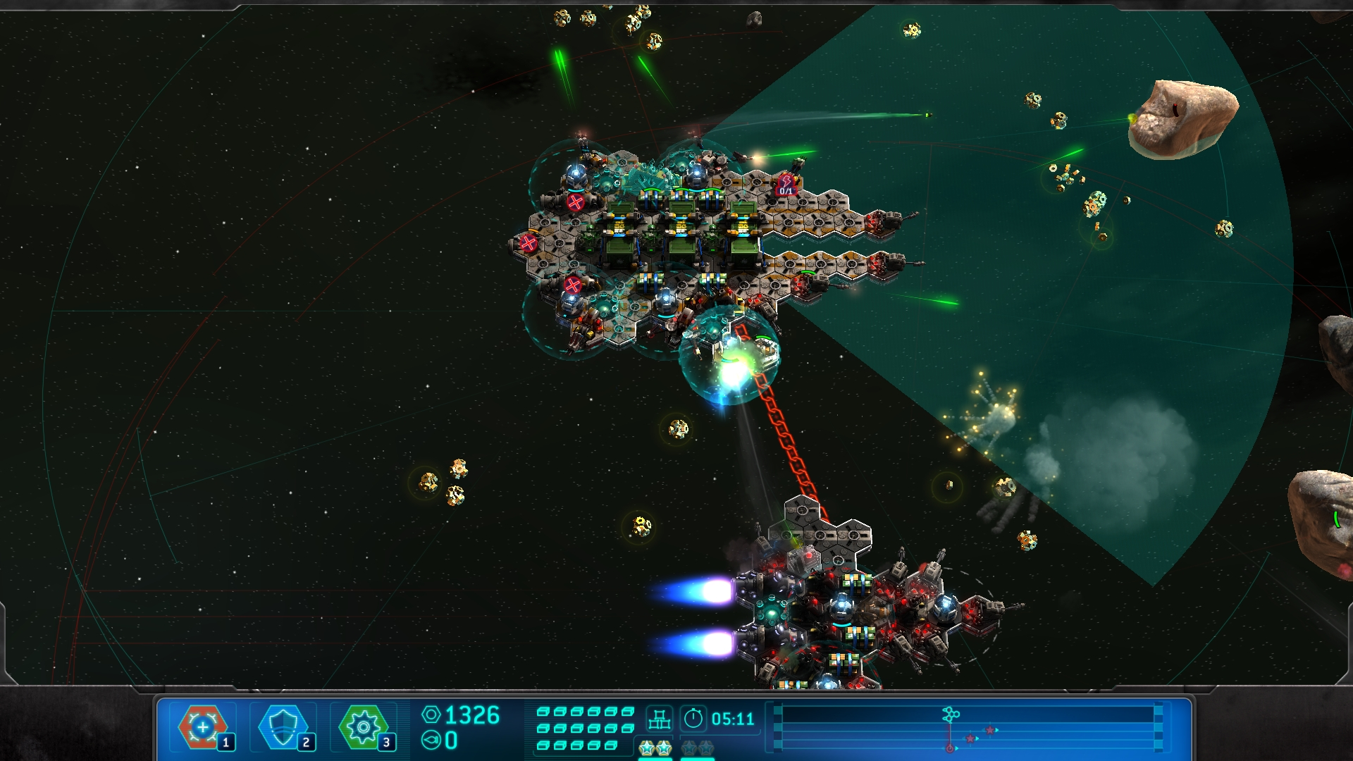 Space Run: Fast and safe delivery